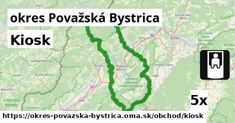 ilustračný obrázok k Kiosk, okres Považská Bystrica