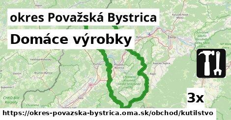 ilustračný obrázok k Domáce výrobky, okres Považská Bystrica