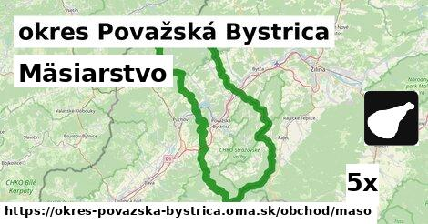 ilustračný obrázok k Mäsiarstvo, okres Považská Bystrica