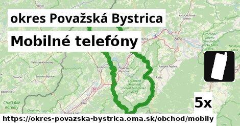 ilustračný obrázok k Mobilné telefóny, okres Považská Bystrica