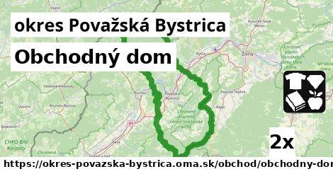 ilustračný obrázok k Obchodný dom, okres Považská Bystrica