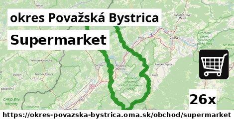 ilustračný obrázok k Supermarket, okres Považská Bystrica