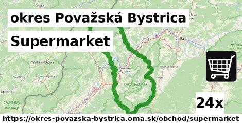 supermarket v okres Považská Bystrica