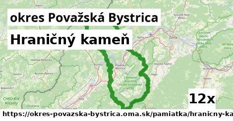ilustračný obrázok k Hraničný kameň, okres Považská Bystrica