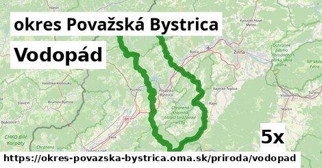 vodopád v okres Považská Bystrica