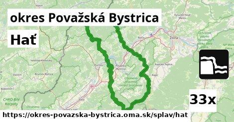 hať v okres Považská Bystrica