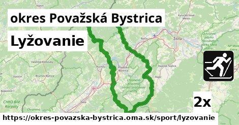 ilustračný obrázok k Lyžovanie, okres Považská Bystrica