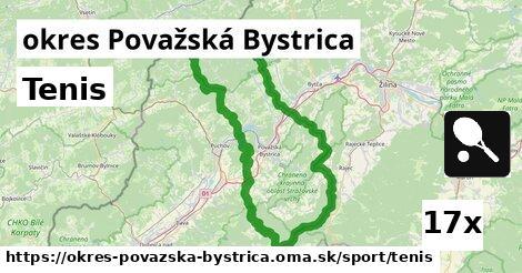 ilustračný obrázok k Tenis, okres Považská Bystrica
