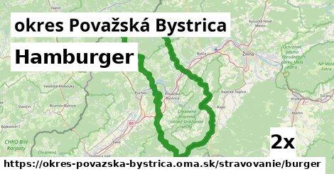 ilustračný obrázok k Hamburger, okres Považská Bystrica