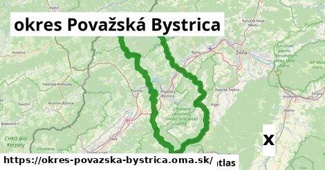 strom v okres Považská Bystrica