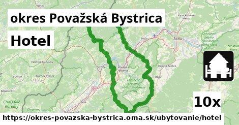 ilustračný obrázok k Hotel, okres Považská Bystrica