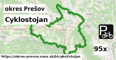 cyklostojan v okres Prešov