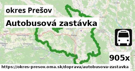 ilustračný obrázok k Autobusová zastávka, okres Prešov