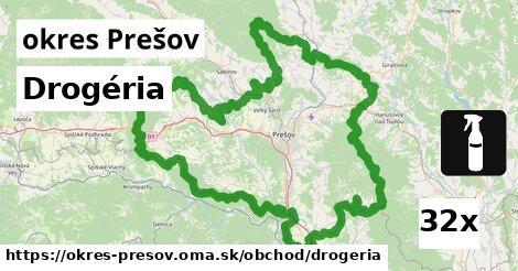 ilustračný obrázok k Drogéria, okres Prešov