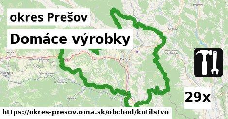 ilustračný obrázok k Domáce výrobky, okres Prešov