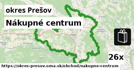 ilustračný obrázok k Nákupné centrum, okres Prešov