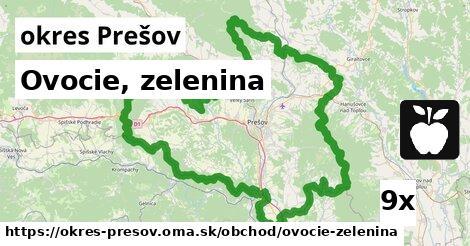 ilustračný obrázok k Ovocie, zelenina, okres Prešov