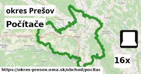 ilustračný obrázok k Počítače, okres Prešov