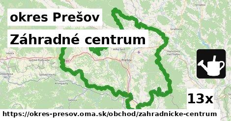 ilustračný obrázok k Záhradné centrum, okres Prešov