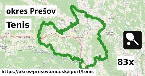 ilustračný obrázok k Tenis, okres Prešov