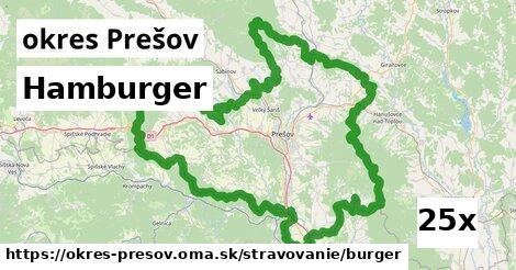 ilustračný obrázok k Hamburger, okres Prešov