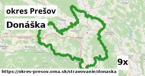 ilustračný obrázok k Donáška, okres Prešov