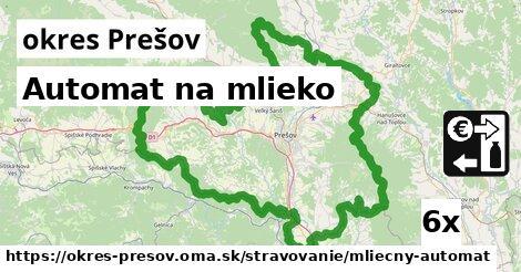ilustračný obrázok k Automat na mlieko, okres Prešov