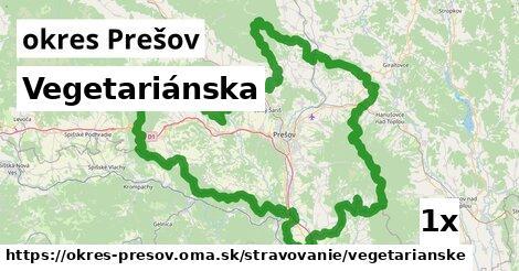 ilustračný obrázok k Vegetariánska, okres Prešov