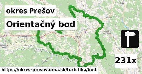 ilustračný obrázok k Orientačný bod, okres Prešov