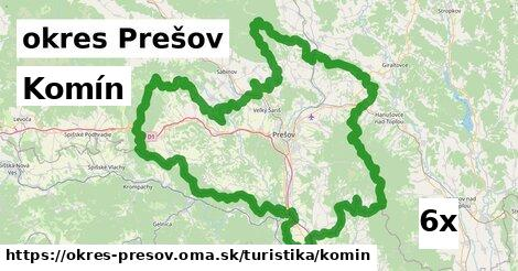 komín v okres Prešov