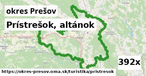 prístrešok, altánok v okres Prešov