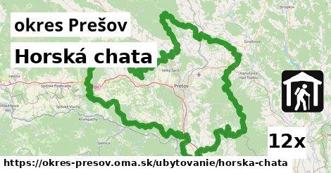 ilustračný obrázok k Horská chata, okres Prešov