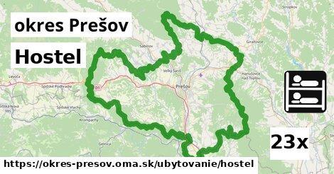 ilustračný obrázok k Hostel, okres Prešov