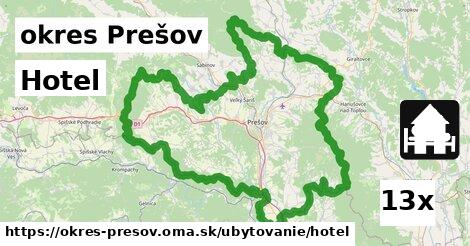 ilustračný obrázok k Hotel, okres Prešov
