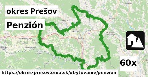 ilustračný obrázok k Penzión, okres Prešov