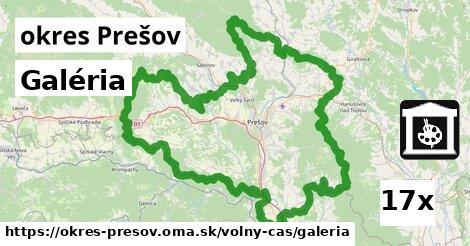 ilustračný obrázok k Galéria, okres Prešov