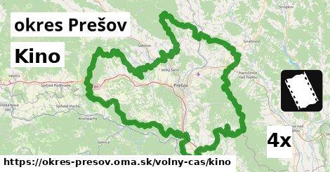 ilustračný obrázok k Kino, okres Prešov