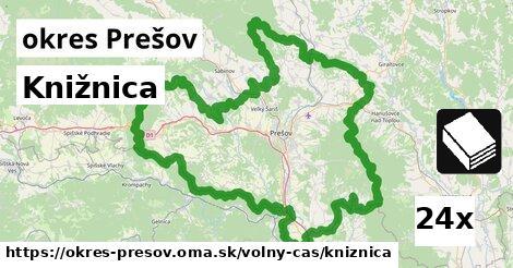 ilustračný obrázok k Knižnica, okres Prešov