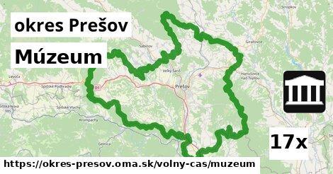 múzeum v okres Prešov