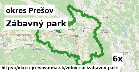 ilustračný obrázok k Zábavný park, okres Prešov