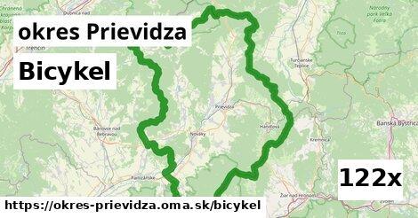bicykel v okres Prievidza