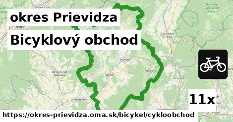 bicyklový obchod v okres Prievidza