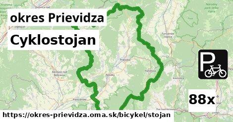 cyklostojan v okres Prievidza