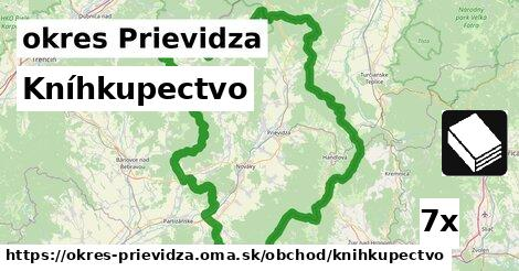 Kníhkupectvo, okres Prievidza