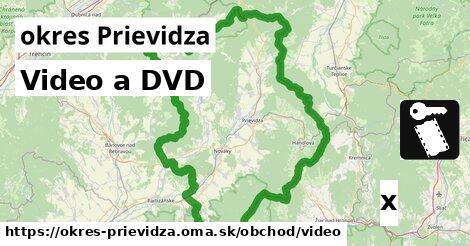Video a DVD, okres Prievidza