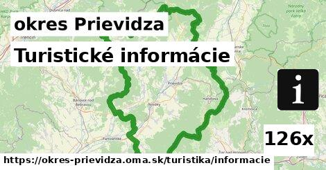 turistické informácie v okres Prievidza