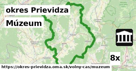 múzeum v okres Prievidza