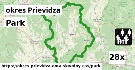 park v okres Prievidza
