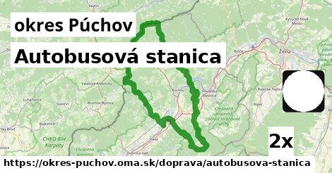 ilustračný obrázok k Autobusová stanica, okres Púchov