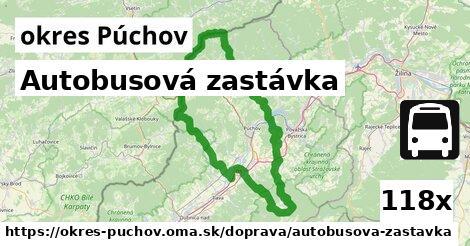 ilustračný obrázok k Autobusová zastávka, okres Púchov